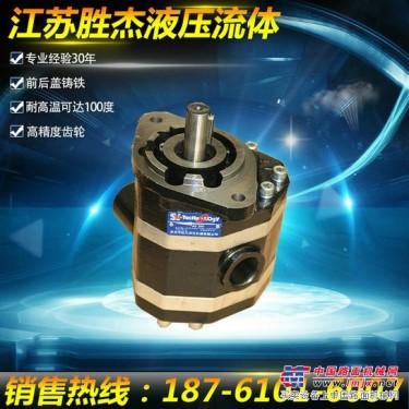 淮安胜杰齿轮泵厂家,生产CB-FC手动液压泵 拖拉机高压油泵