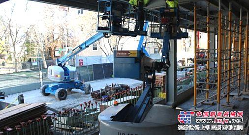 扬州10米12米剪叉28米30米34米直臂高空作业平台出租