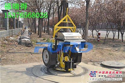超大功率的井盖切割机 一次成型的井盖切圆机 路面切割机