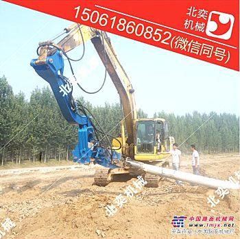 供应江苏无锡市多功能打桩机 高频液压震动打桩机生产厂家