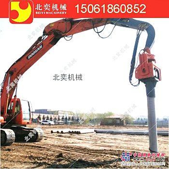 供应液压锤江苏生产厂家 挖掘机液压震动锤厂家 挖机打桩机