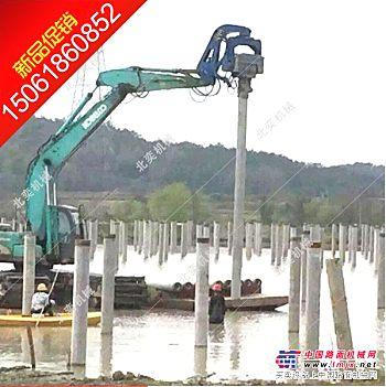 供应挖掘机打桩机 挖机打桩锤 液压震动锤江苏无锡生产厂家