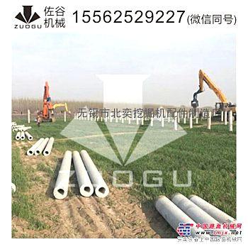 供应钢板桩打桩机型号挖掘机振动锤打桩机挖掘机打桩机打桩锤