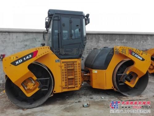 二手14吨双钢轮振动压路机/上海二手压路机市场