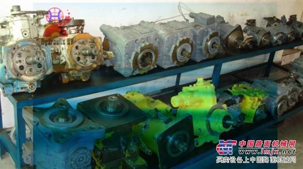 掘进机液压泵配件维修