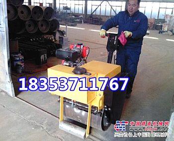 小型单轮轧道机  小型振动碾 瑞特 产品做的更专业