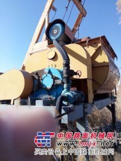 二手JS750强制式混凝土搅拌机转让