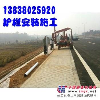 湖南长沙护栏安装株洲公路护栏施工益阳邵阳郴州高速公路护栏施工