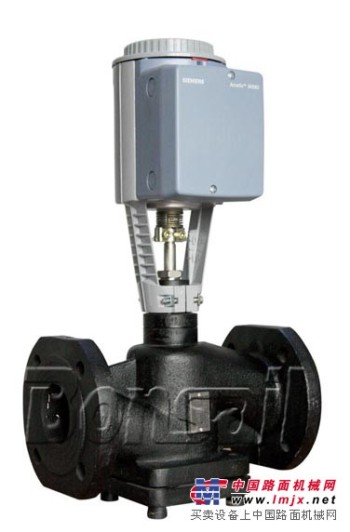 西门子二通电动蒸汽阀