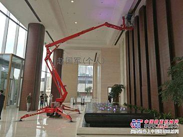 出租北京大兴通州顺义怀柔密云星邦升降机高空车蜘蛛车