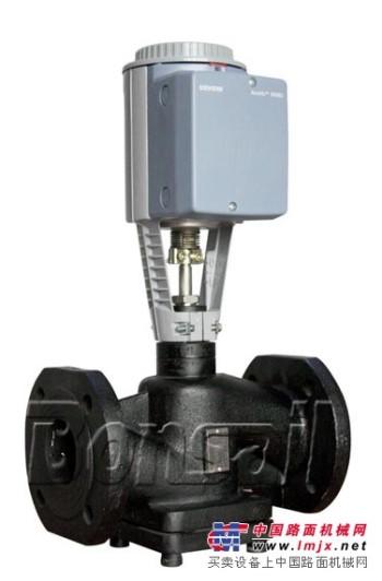 西门子原装二通电动调节阀