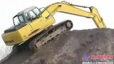 挖掘机教学培训视频之挖沟、找平