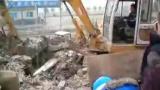 挖掘机表演