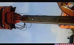 液压振动锤施工现场