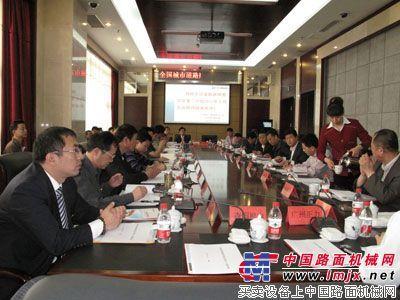 北方交通2011年最新高空作业车下线  助力中国城市照明事业