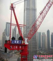 中昇建机塔机ZSL2700参建上海中心大厦吊装工程