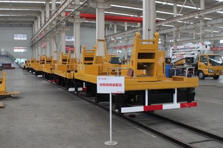 北方交通打造高空作业车精益化制造样板