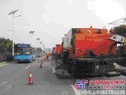 新余市政道路养护选择英达,施工不封路受市民好评