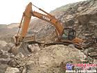 南疆矿山的勇猛战士--凯斯液压挖掘机