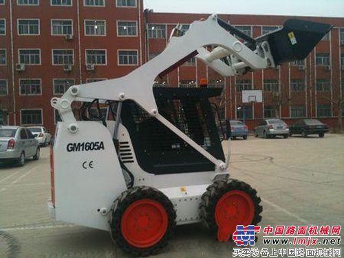 威肯重工推出新品——威肯GM1605A滑移裝載機