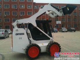 威肯重工推出新品——威肯GM1605A滑移装载机