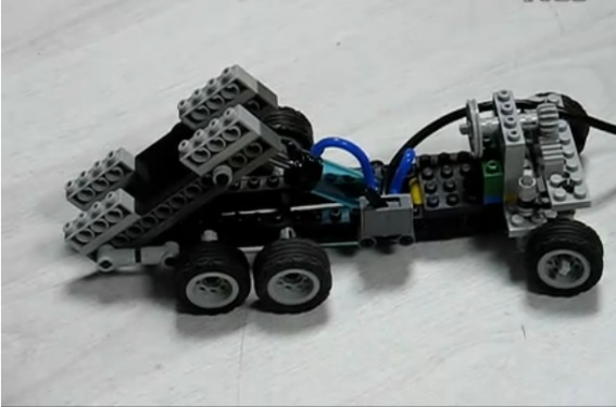 自卸車模型展示