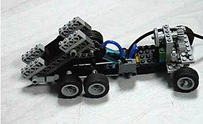 自卸车模型展示
