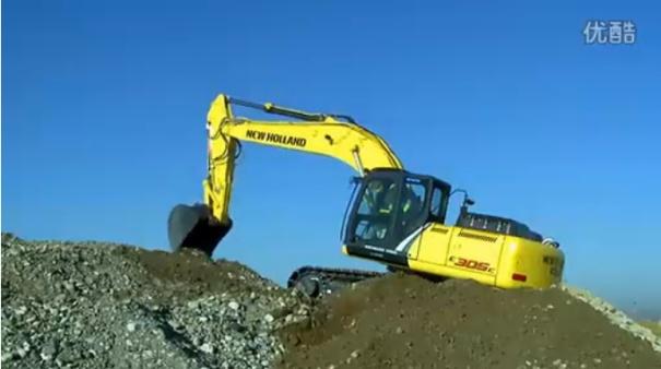 神钢E305C挖掘机最新驾驶舱演示说明