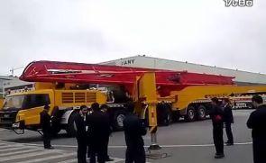打破吉尼斯纪录的三一重工86米泵车展示会风采!
