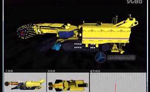 煤矿掘进机模拟仿真演示视频