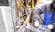 山推SR20M压路机250小时保养过程