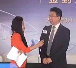 访中联重科建筑起重机公司副总经理刘忠礼