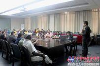 国外考察团在中集凌宇参观考察