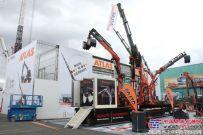 阿特拉斯挖掘机盛装亮相第九届巴黎国际工程机械展