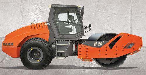 悍马在INTERMAT推出H系列压路机