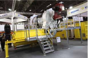 法亚在INTERMAT推出世界第一款紧凑型沥青搅拌站