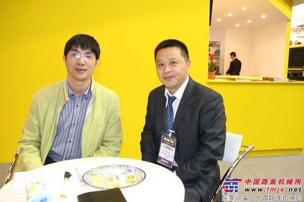 INTERMAT 2012:对话成工海外事业部副部长杨毅