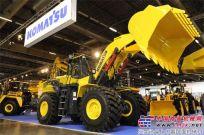 小松在INTERMAT 2012推出新款轮式装载机