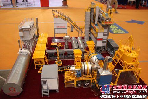 泉成机械设备模型展示