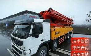 三一 62米 泵车 TOP50 混凝土机械