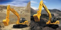 龙工挖掘机新品LG6225D、LG6245H闪耀上市