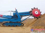 大连重工设计的全液压轮斗挖掘机试车成功