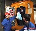 山河矿装矿用可移动式救生舱现场技术检验成功