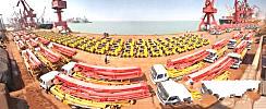 徐工60台徐工混凝土泵车发往委内瑞拉