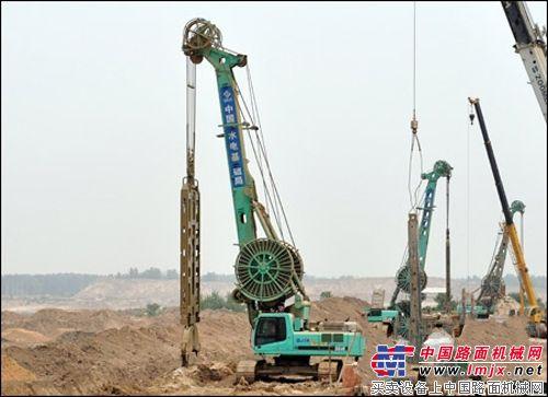 金泰SG旋挖钻机欢唱主角