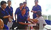 力士德公司开展全体员工免费体检活动
