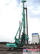 金泰小型旋挖钻机成功进军新疆市场