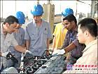 临工组织印度服务经理参加DDE发动机培训