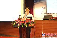 上海金泰工程机械有限公司副总经理徐林