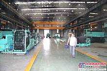 金泰钻机厂房展示